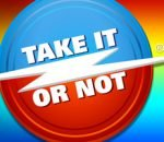Take It Or Not dice game logo