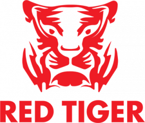 Red Tiger Gaming logo in het rood