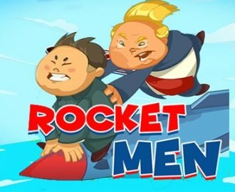 Karakters van Red Tiger's Gaming nieuwe gokkast Rocket Men